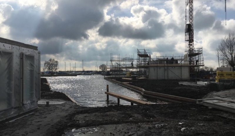 2e fase recreatiewoningen waterpark Akkrum